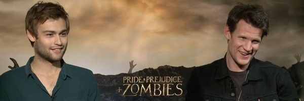 Matt smith douglas booth on pride and prejudice and zombies collider pride and prejudice and zombies douglas booth matt altavistaventures Images