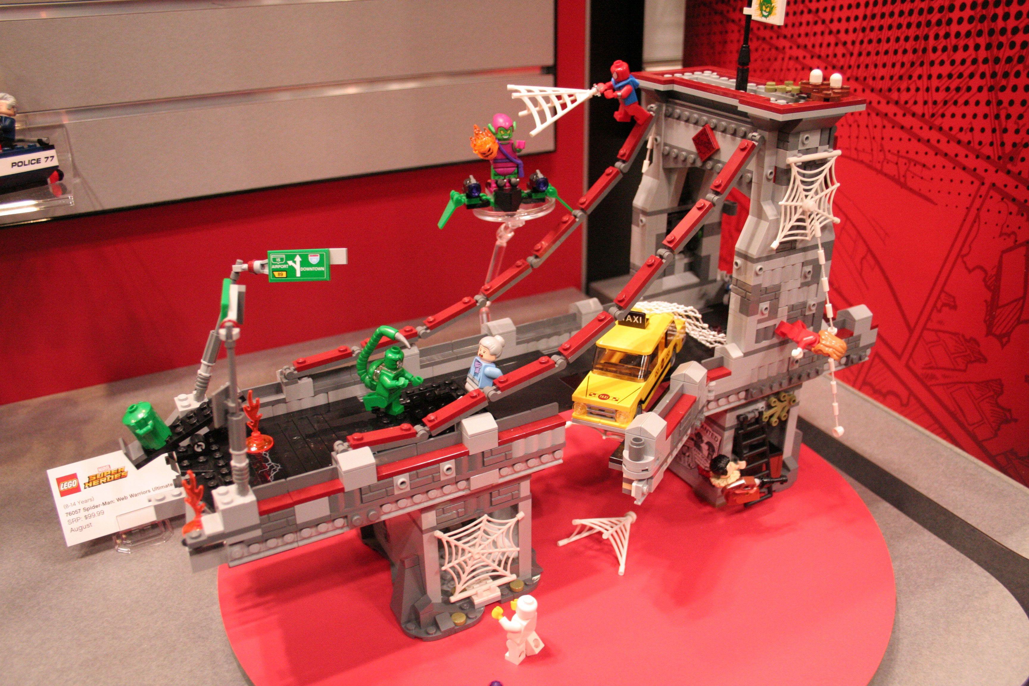 Lego Marvel Toys : Batman vs superman captain america lego images from toy