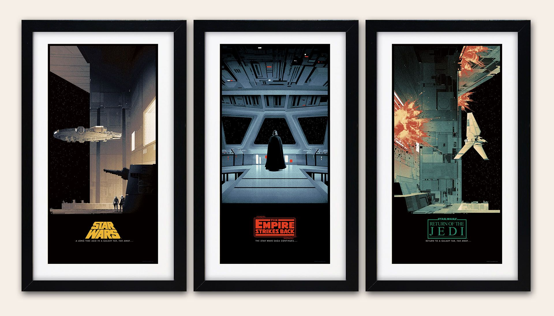star wars posters by matt ferguson for bottleneck gallery | collider