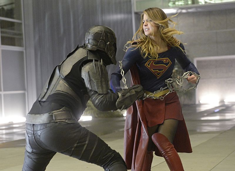 supergirl tied up