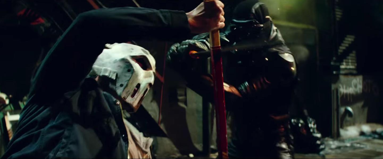 Stephen Amell Talks Casey Jones, Debuts TMNT 2 Clip | Collider