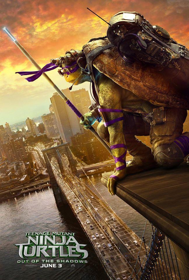Teenage Mutant Ninja Turtles 2 Posters Take to the Skies | Collider