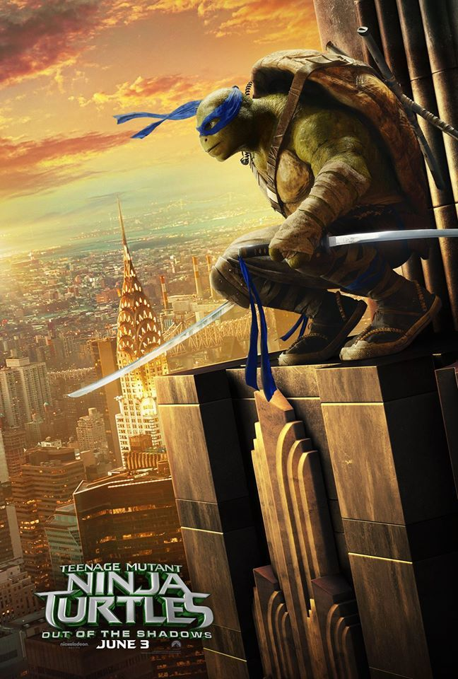 Teenage Mutant Ninja Turtles 2 Posters Take To The Skies Collider