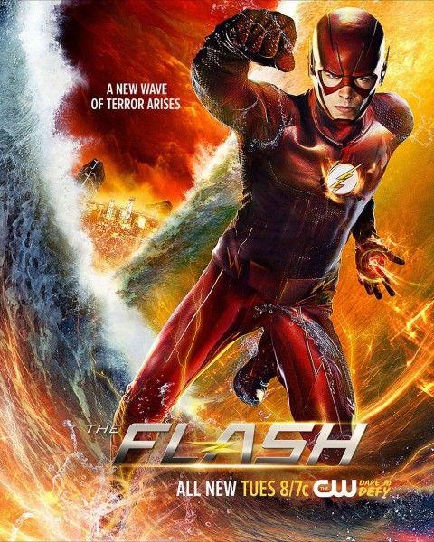 the-flash-king-shark-poster