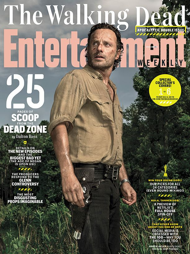 The Walking Dead's Andrew Lincoln on the Season 6 Finale