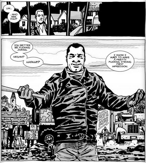 Walking Dead Negan Comic