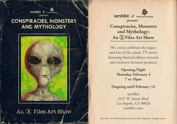 x-files-art-show-iam8bit-flier-1