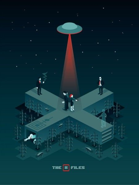 x-files-art-show-iam8bit-harlan-elam