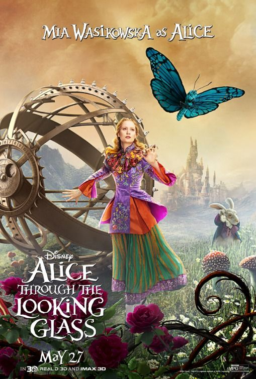 Alice In Wonderland 2 Trailer Goes Through The Looking Glass Collider