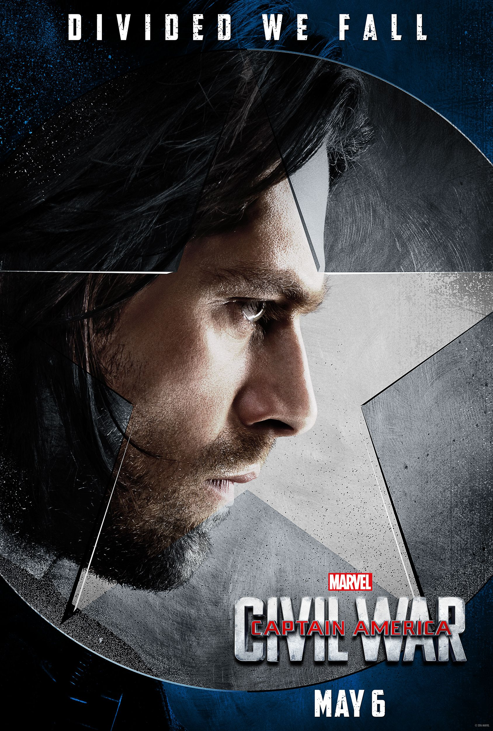 Captain America Civil War Posters Highlight Team Cap