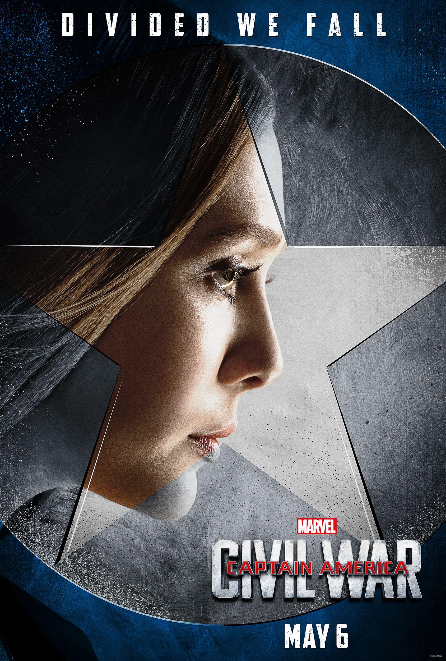 Captain America Civil War Posters Highlight Team Cap Collider