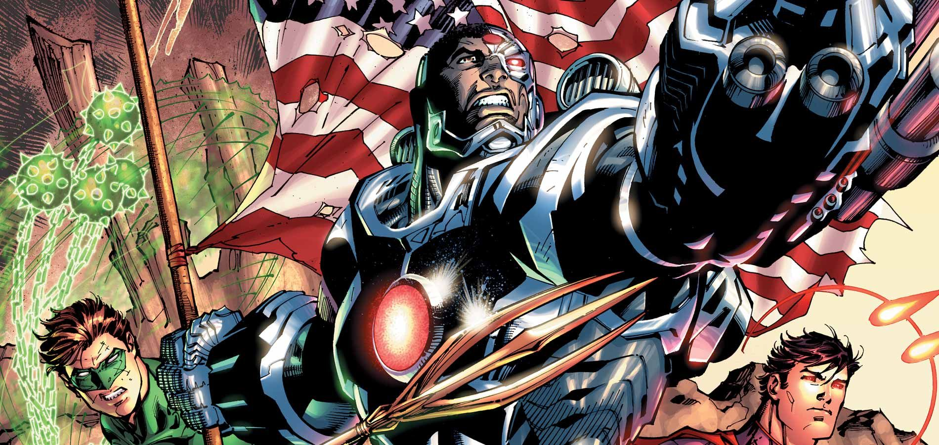 Justice League Cyborg S Origins Tied To Mother Box Collider