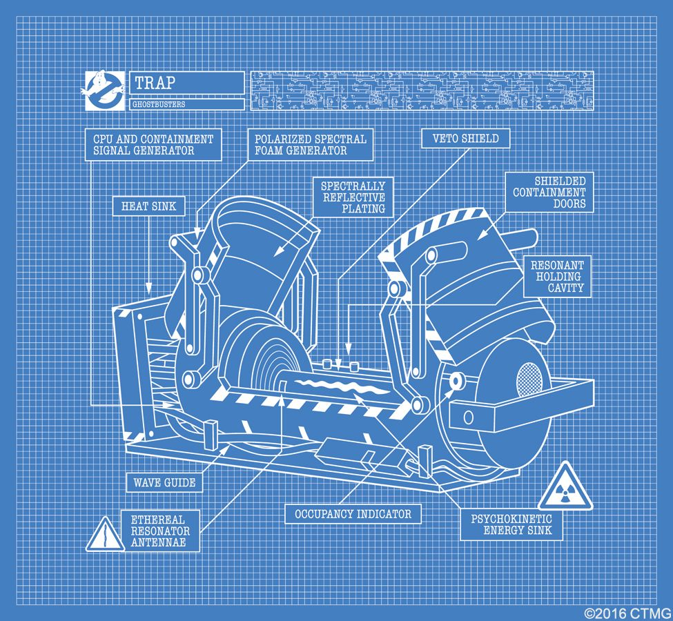 39 ghostbusters 39 viral site reveals new scenes and equipment for Blueprint generator free