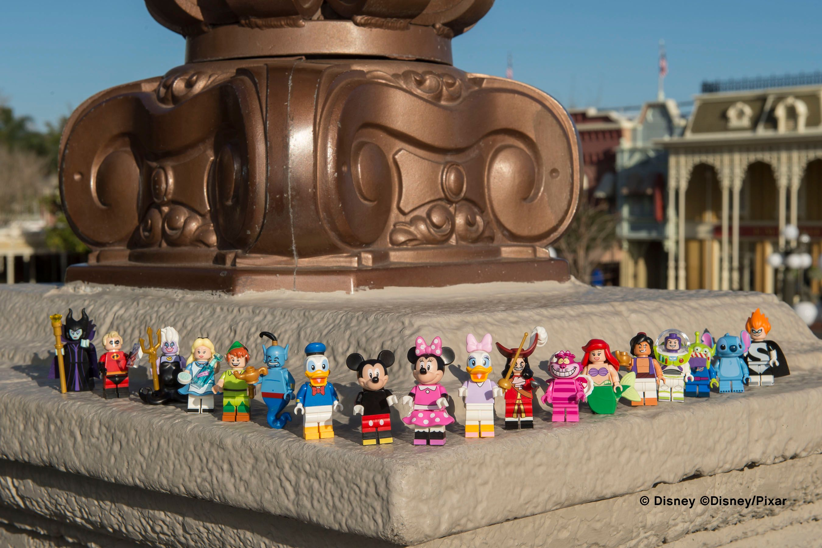Lego Disney Minifigures Images Revealed Collider