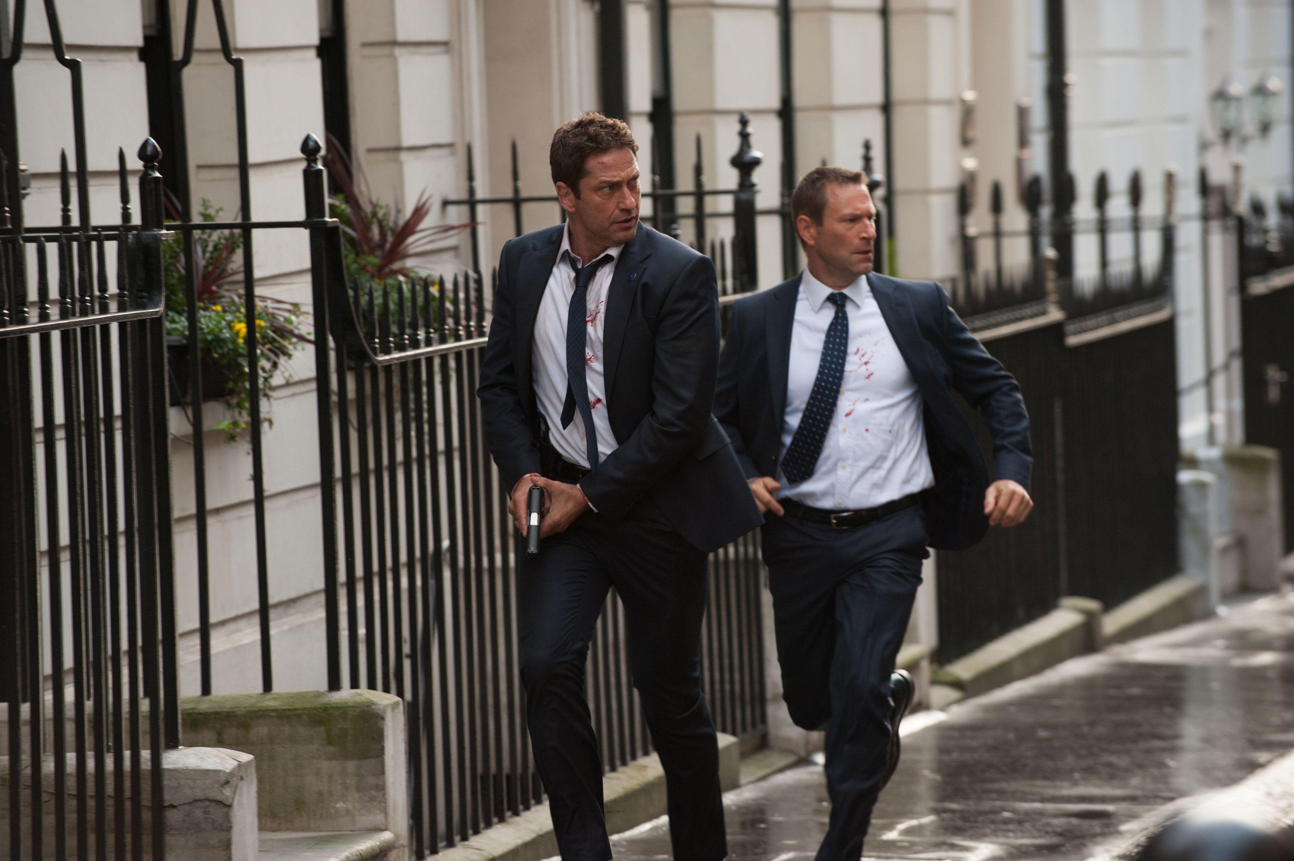 London Has Fallen Review Gerard Butler Has Offensive Dumb