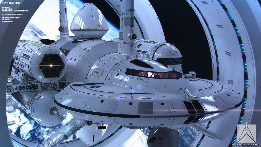 NASA Has Designed a Warp Ship Inspired by 'Star Trek's Enterprise