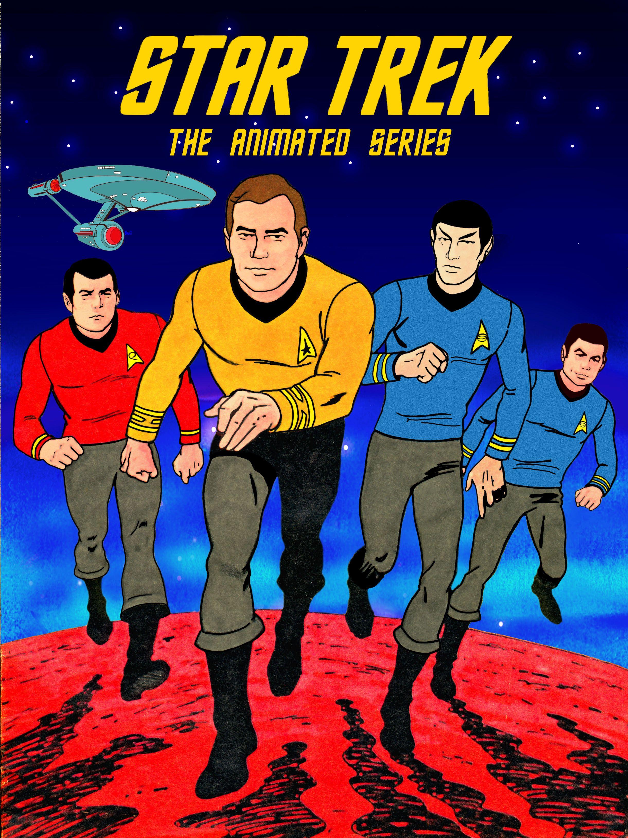 Star Trek: The Animated Series promo poster.   Star trek
