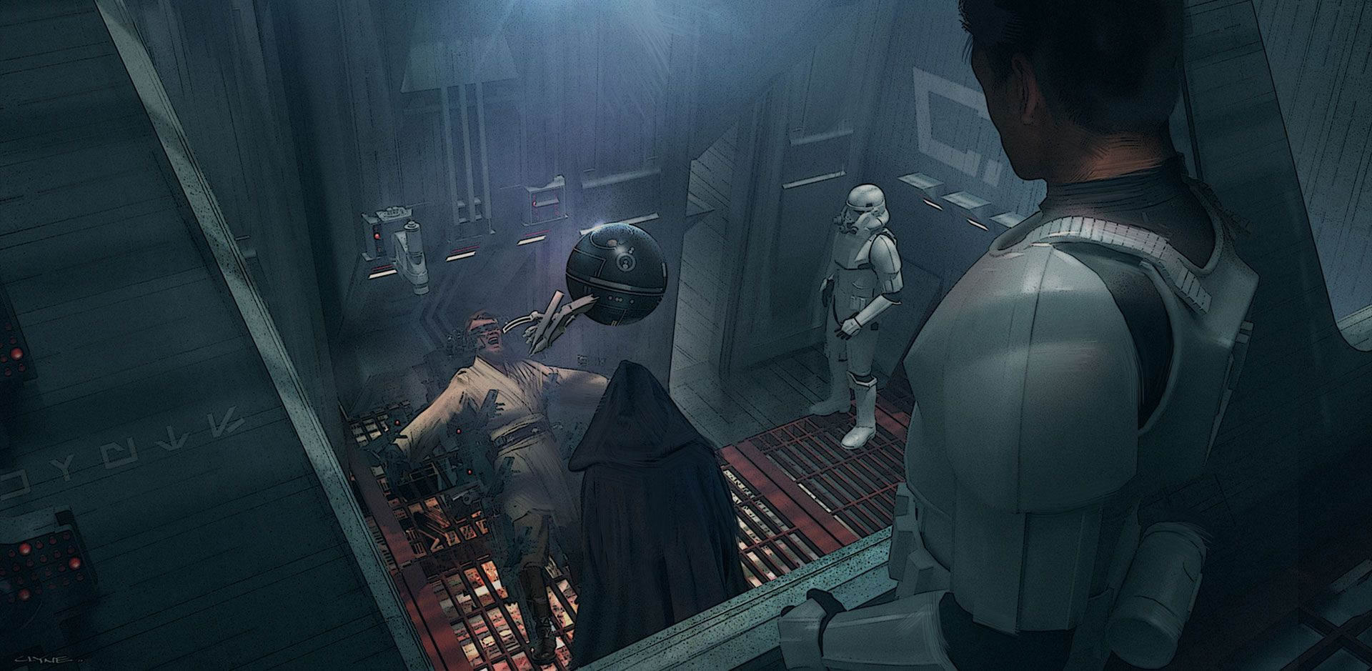 Star Wars The Force Awakens Concept Art Images Revealed