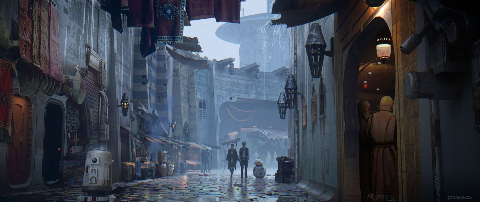 Star Wars: The Force Awakens Concept Art Images Revealed ...