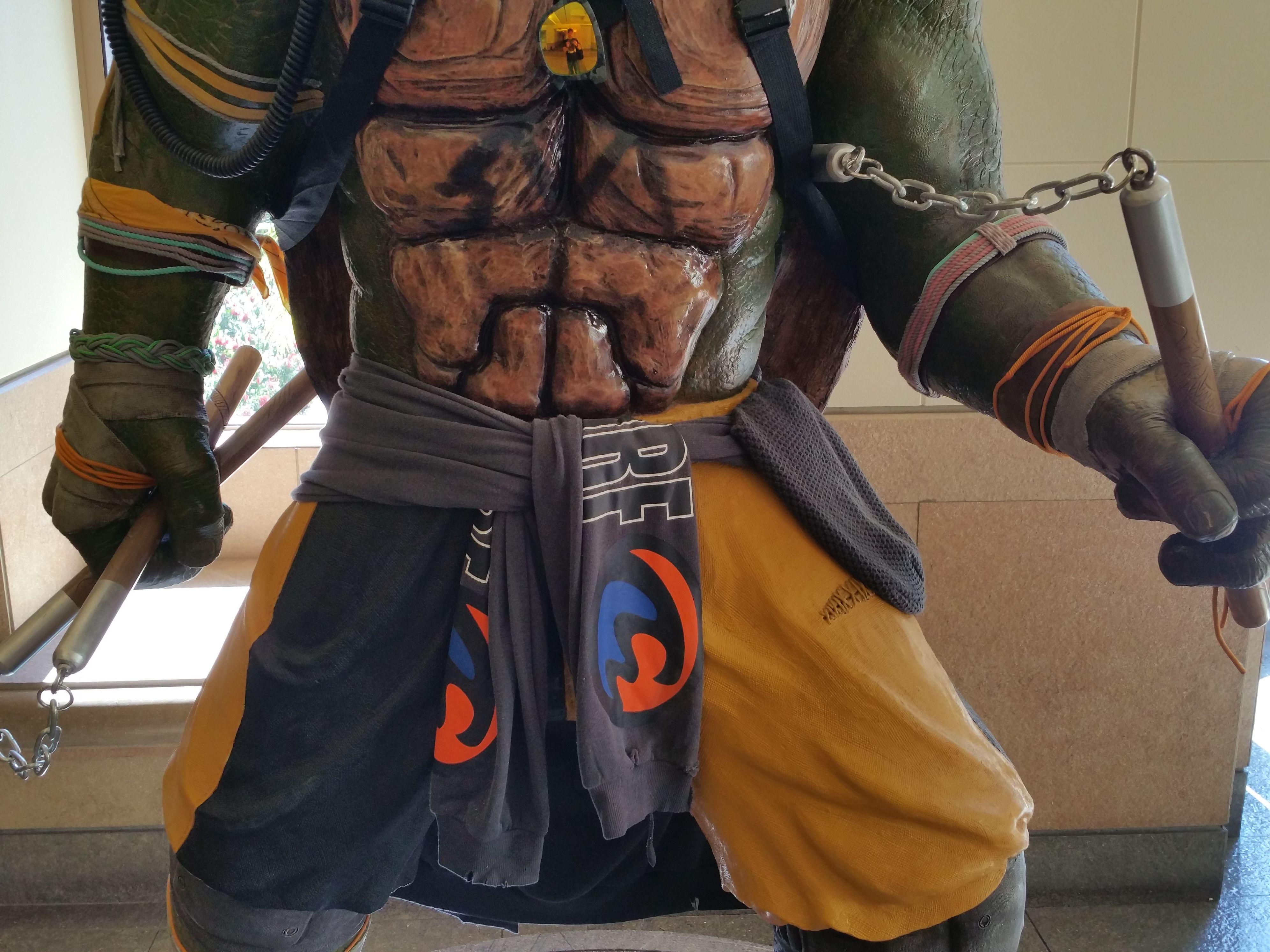 Teenage Mutant Ninja Turtles 2 Statue Images At Paramount Collider