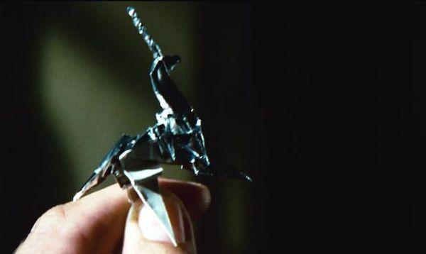Blade Runner Unicorn Origami