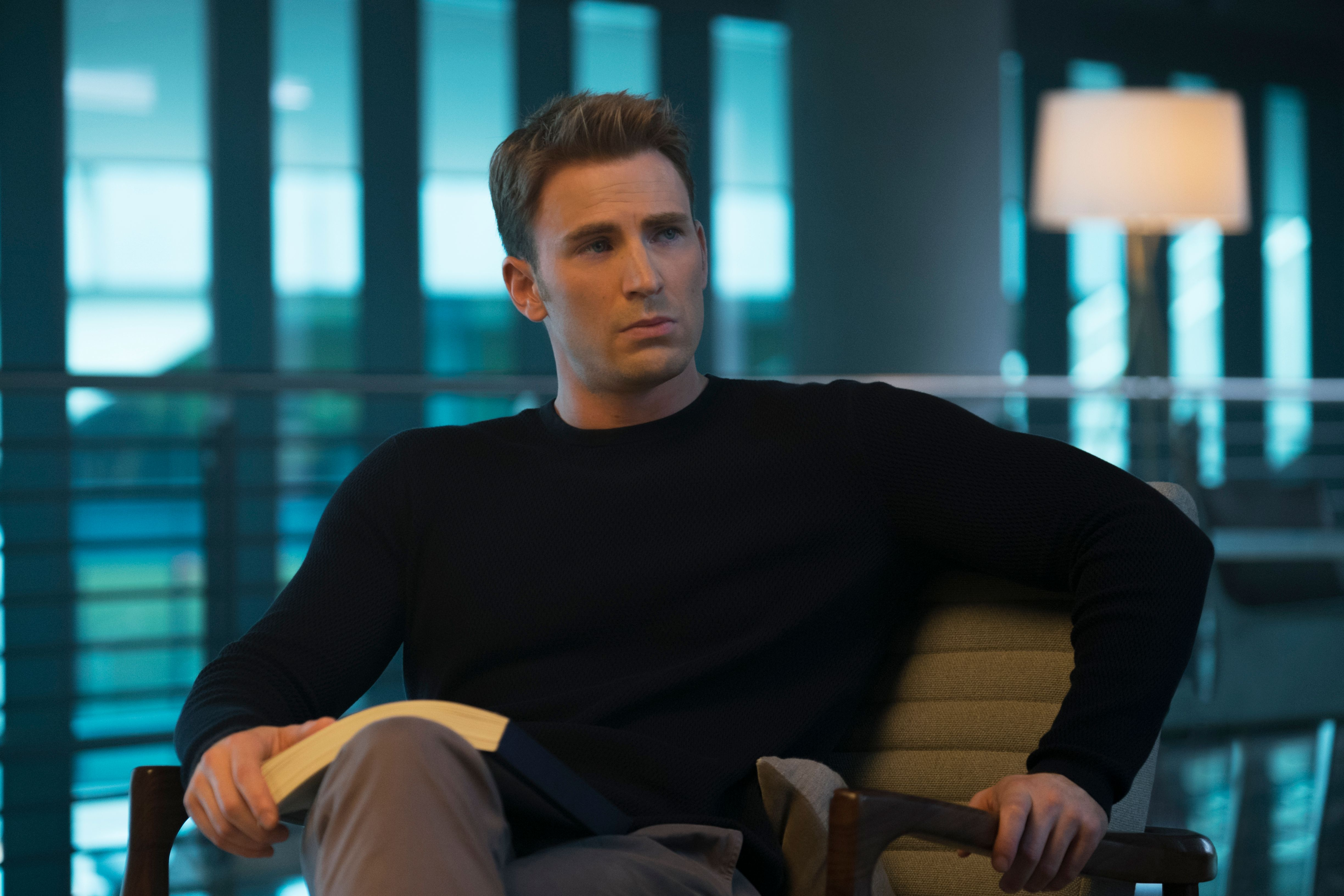 Chris Evans Hints That He is Done as Captain America After ...
