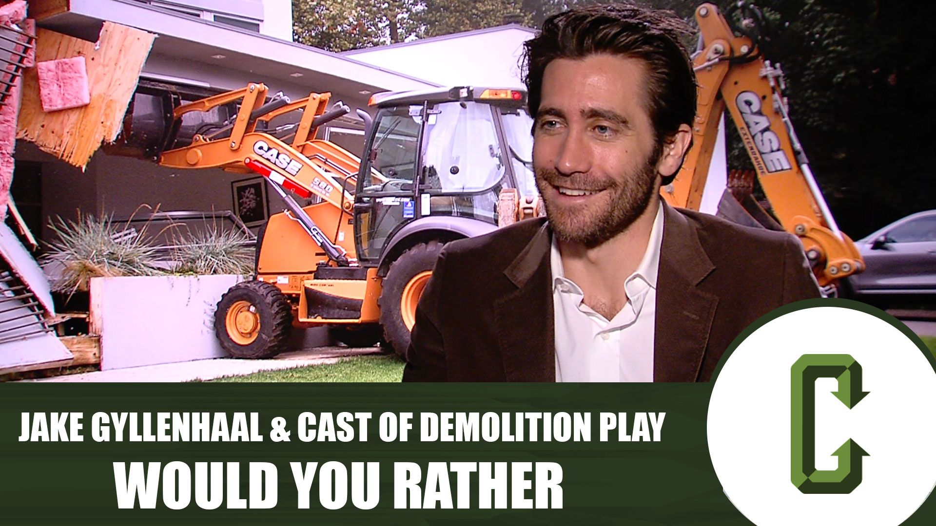 Watch Jake Gyllenhaal and the Cast of 'Demolition' Play Would You Rather