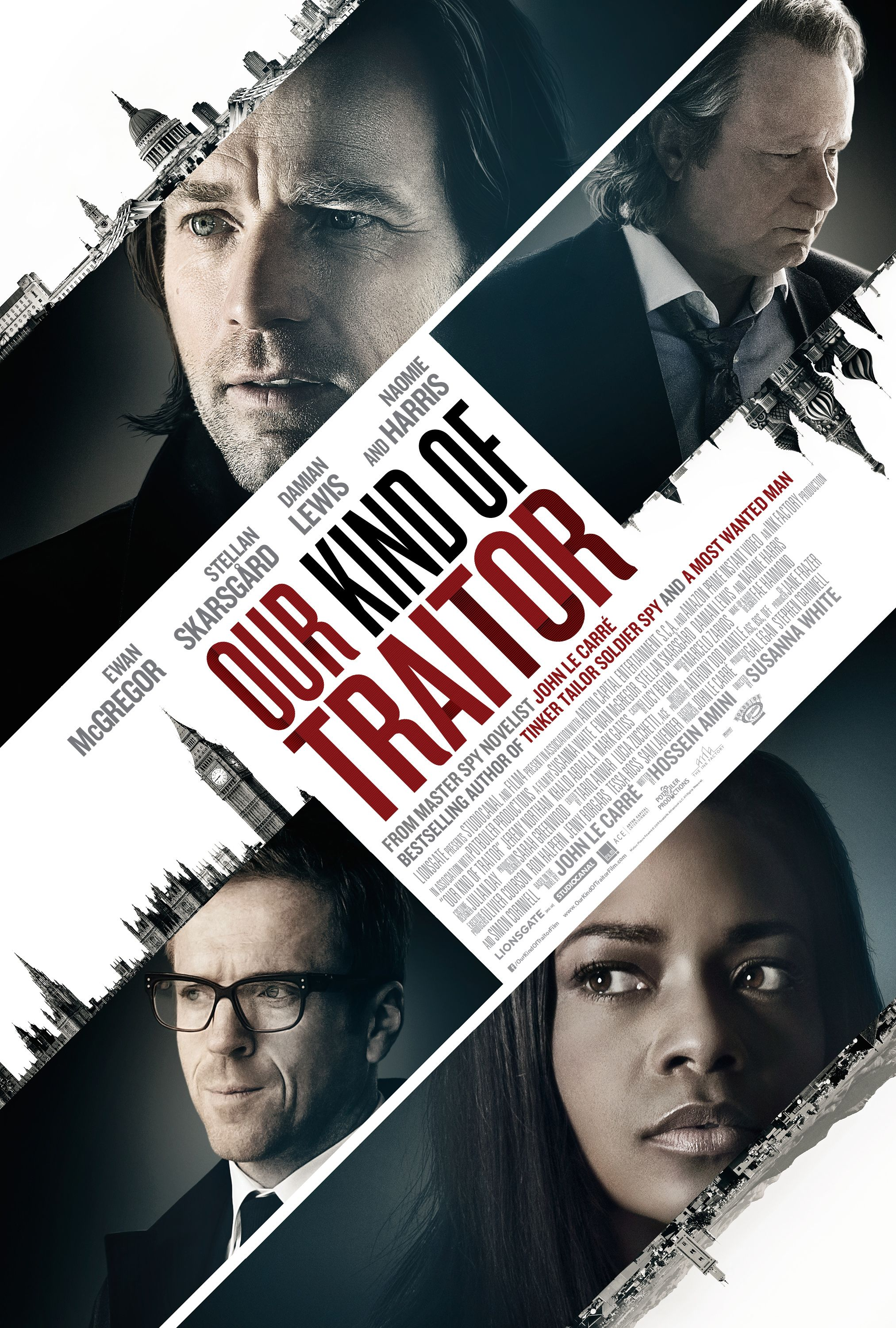 Our Kind of Traitor (15) - Village Cinema, Amy Robsart Hall, Syderstone, Norfolk, PE31 8SD | A thriller adapted from the 2010 novel by John Le Carre, moving from the era of Cold War spying to the equally dark world of money laundering.  | film