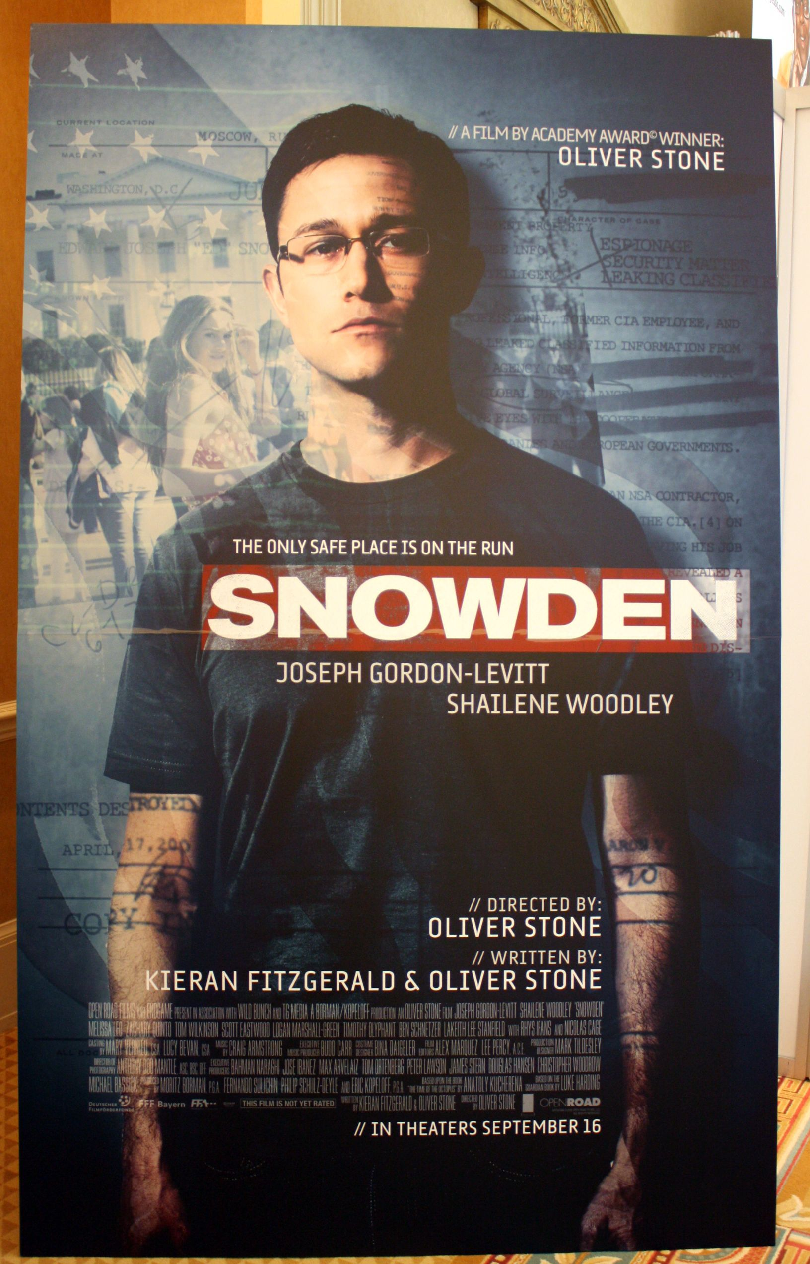 movie snowden poster posters passengers train film patriots trailer movies collider levitt nsa whistle blower gordon joseph magnificent hero