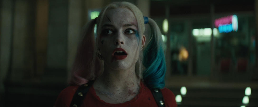 harley quinn suicide squad face
