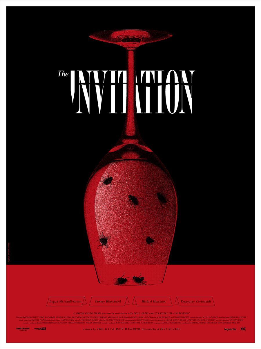 The Invitation Mondo Poster By Alan Hynes Collider