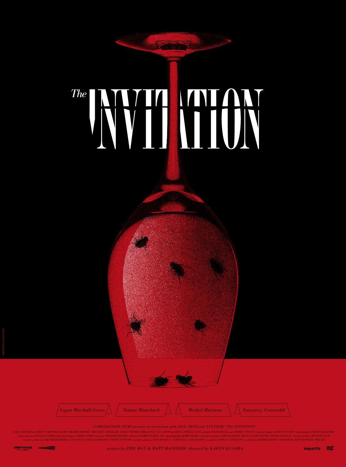 the invitation mondo poster by alan hynes collider