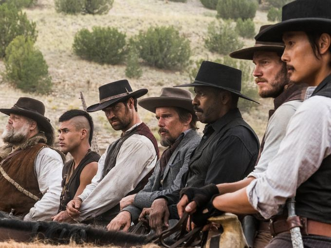 Trailer released for 'Magnificent Seven' remake