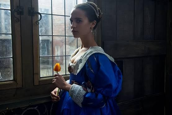 Alicia Vikander in the Tulip Fever Trailer
