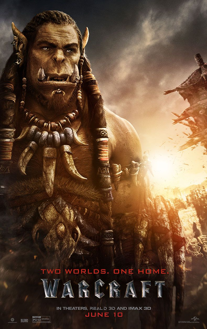 Warcraft Character Posters Tease The Nerdiest Movie Of 2016 Collider