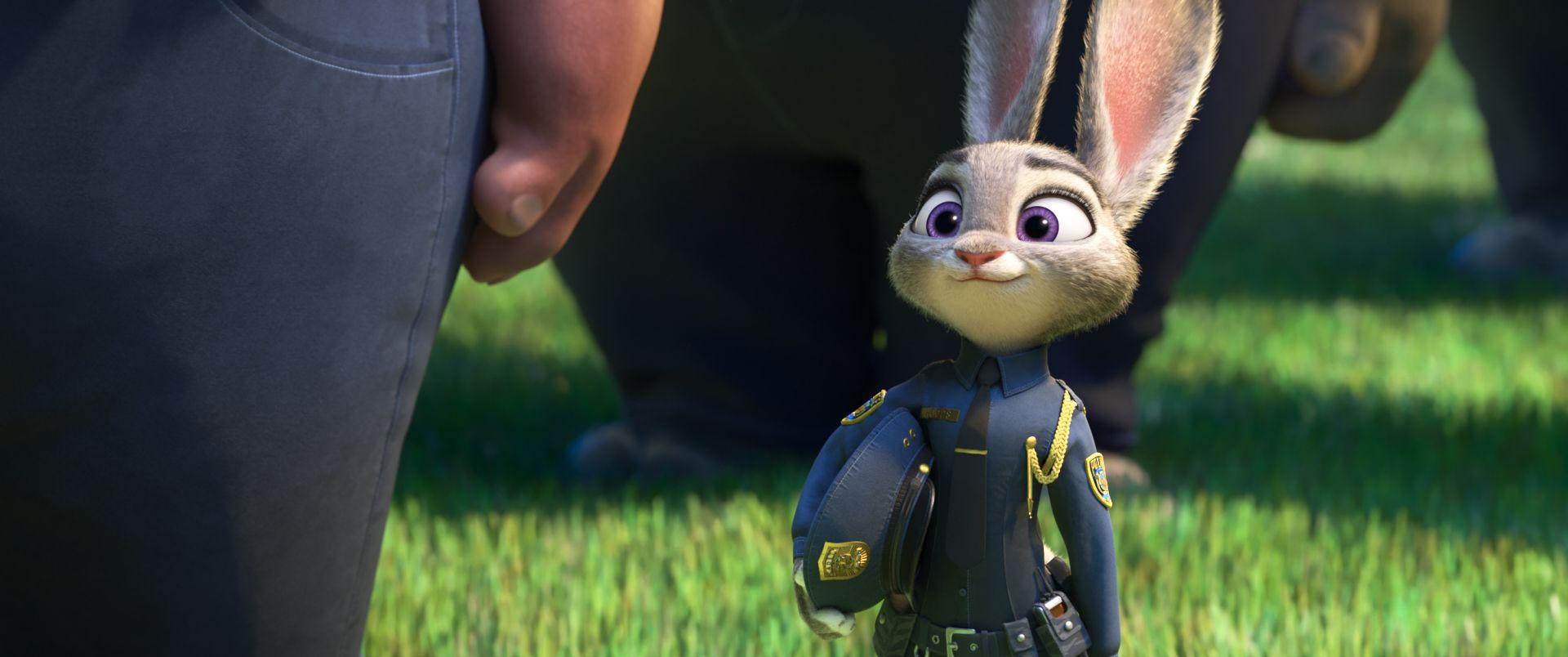 Ausmalbild Nick Und Judy Hopps Aus Zootopia: Zootopia Documentary Reveals Disney Movie's Evolution
