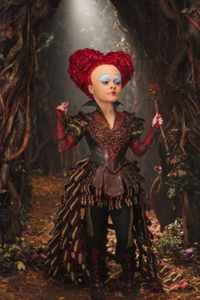 Helena Bonham Carter on Alice Through the Looking Glass ... Helena Bonham Carter