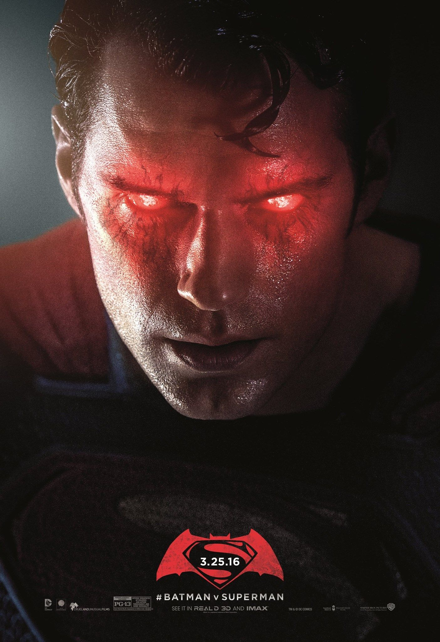 Batman V Superman Posters Unused 2
