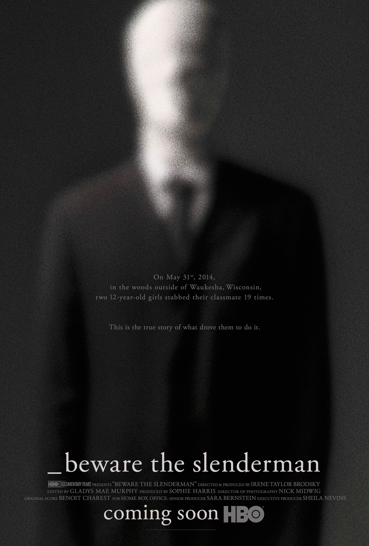 beware the slenderman poster