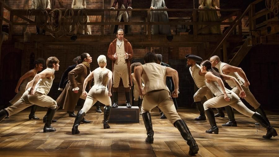 a critique of hamilton a musical by lin manuel miranda Lin-manuel miranda's tony-winning musical about alexander hamilton runs from wednesday through nov 4, and is the biggest broadway show to hit charlotte by local arts.