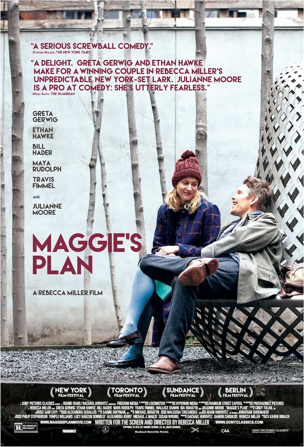Maggie's Plan Review: Greta Gerwig Delights Yet Again | Collider