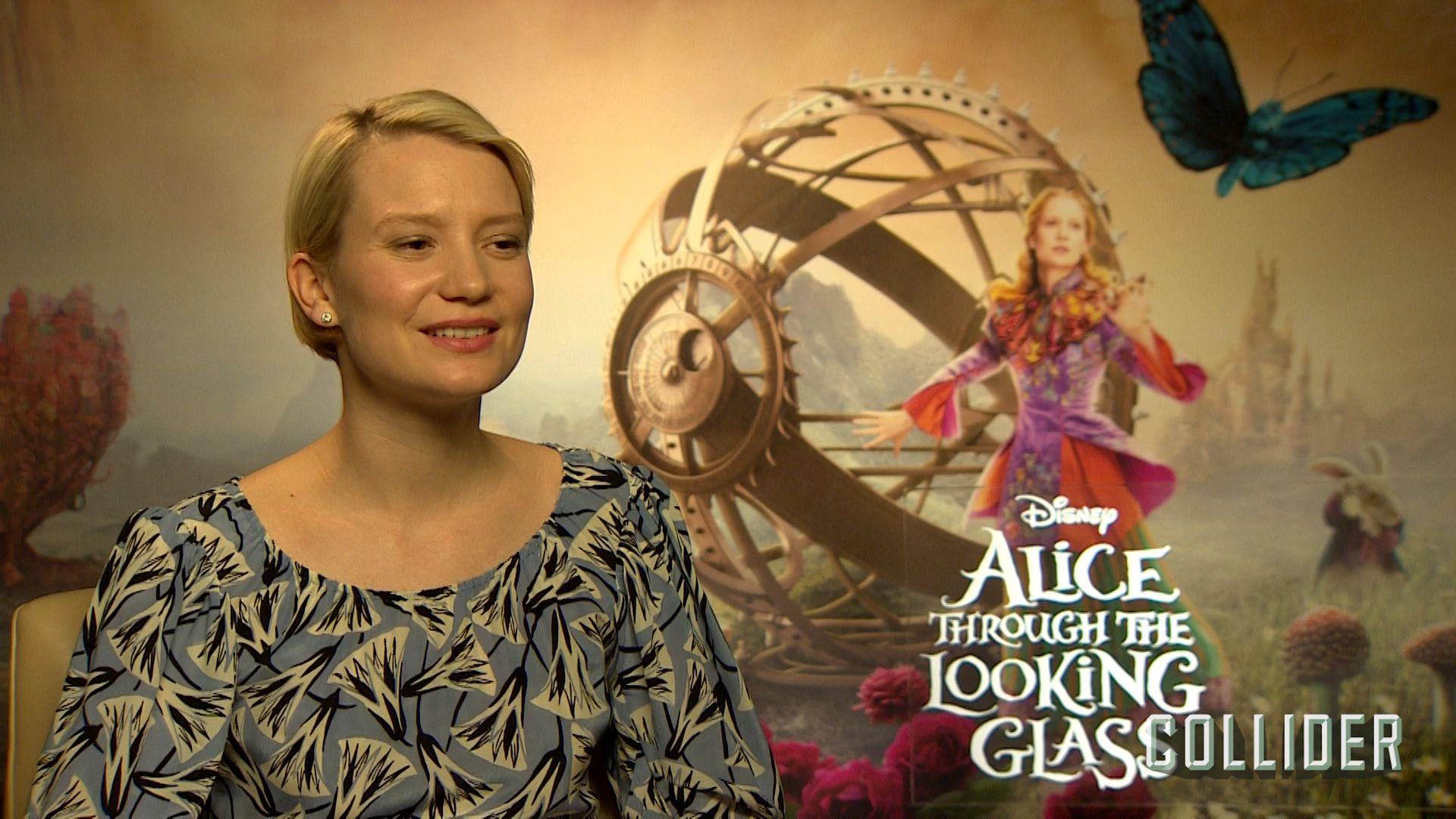 Mia Wasikowska On Alice Through The Looking Glass Hhhh
