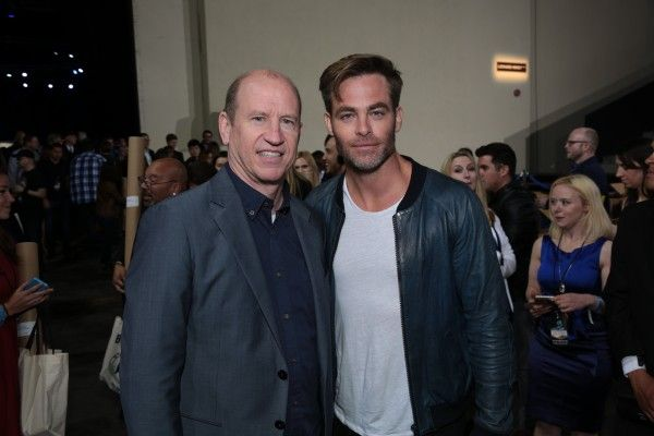 Rob Moore, Chris Pine
