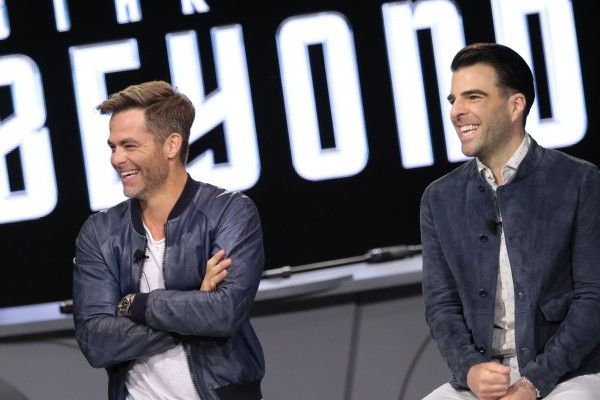 Chris Pine, Zachary Quinto