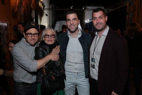 JJ Abrams, Susan Nimoy, Zachary Quinto, Aaron Bay Schuck