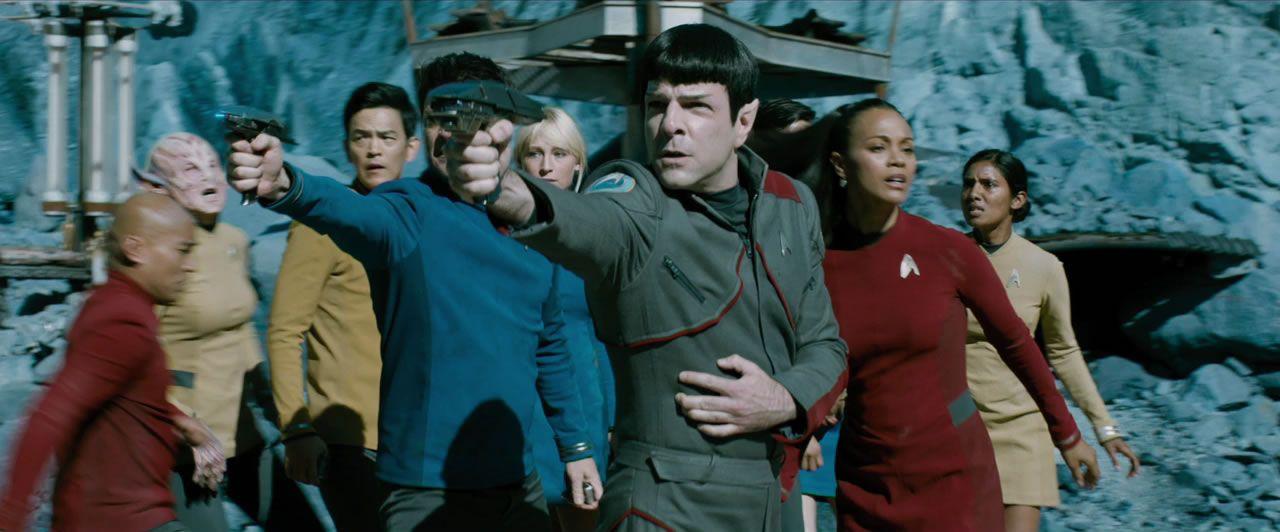 Zoe Saldana On Star Trek Beyond Uhura Spock Relationship
