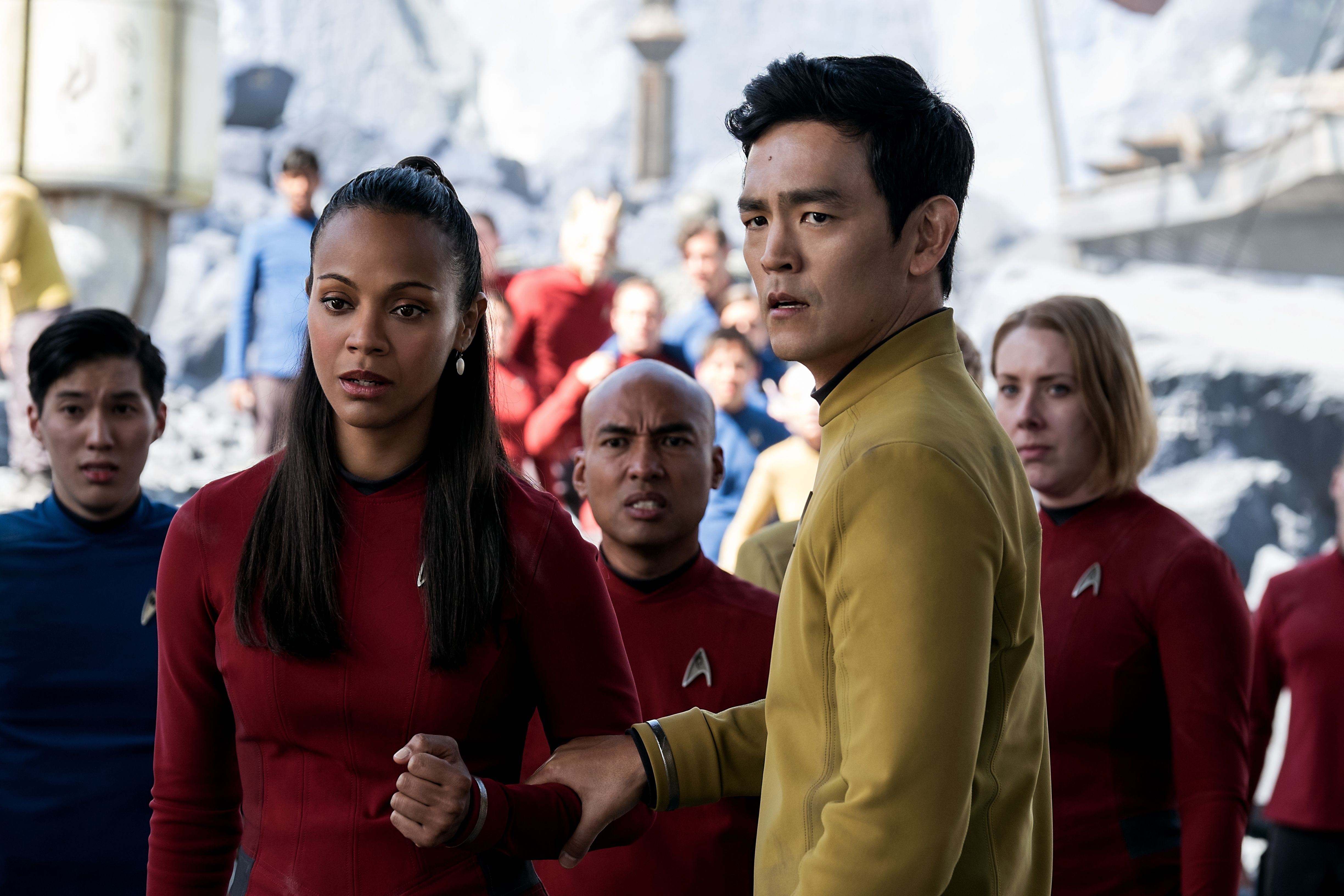 Star Trek Beyond Cast On Legacy The Future Of The
