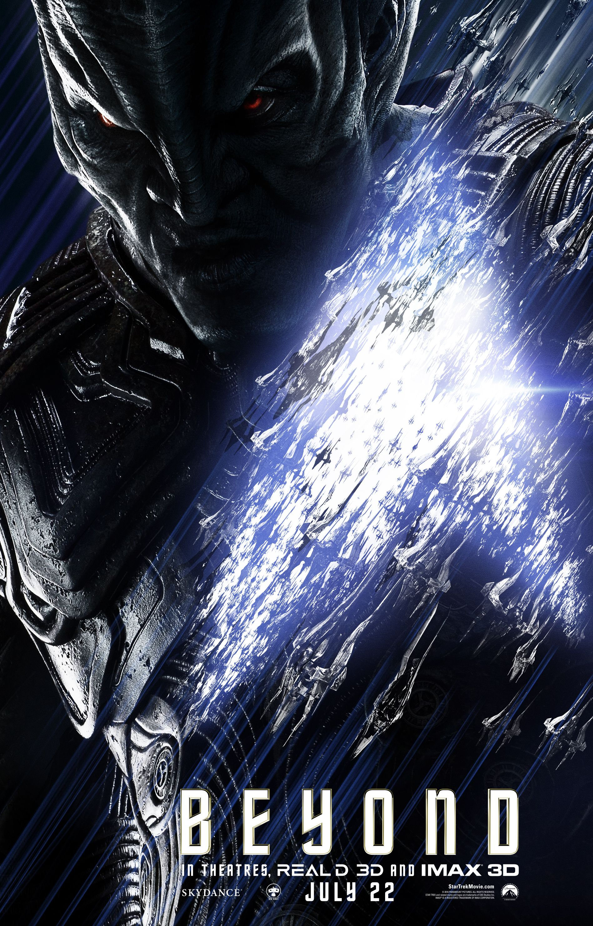 Star Trek Beyond Posters Beam Up Karl Urban Sofia Boutella Collider