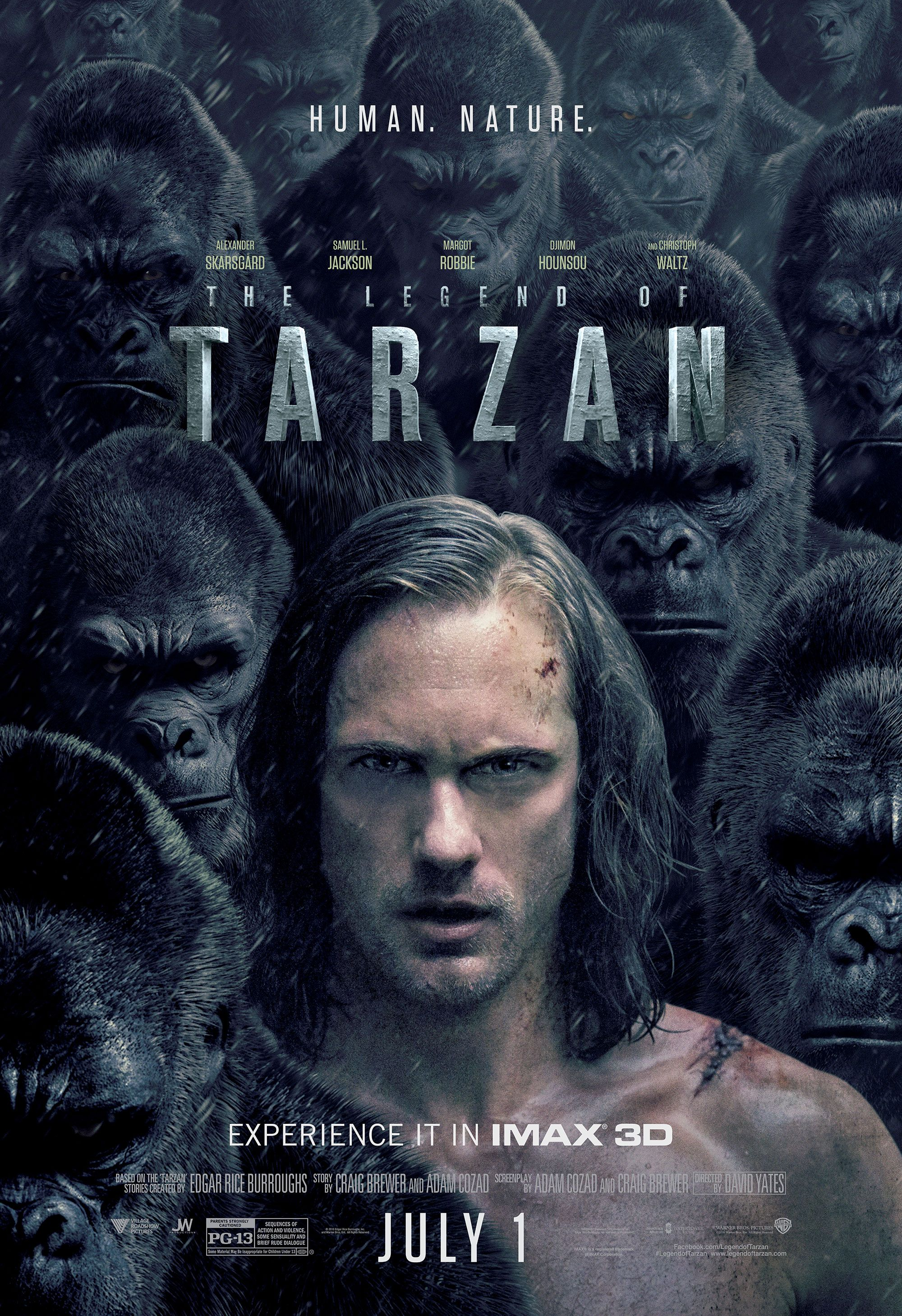 Download Film The Legend of Tarzan (2016)