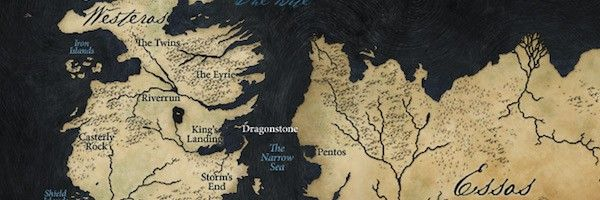 Game Of Thrones Season 6 Recap Map Collider